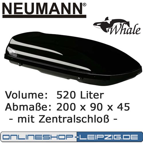 dachbox skibox campingbox neumann whale 200. Black Bedroom Furniture Sets. Home Design Ideas